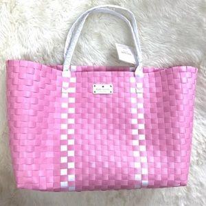 Kate Spade Tote Extra Large Pink Spring Bag Purse